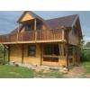 Гостевой домик 6на8 из профилированного бруса с монтажом и проектом за 16 000$