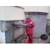 Алмазное сверление(бурение)  отверстий (настоящее) .  Алмазная резка бетона