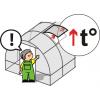 Сверхпрочная оцинкованная теплица «Сибирская АвтоИнтеллект XXL (ТРУБА 40- КА!         )         » 8x3x2